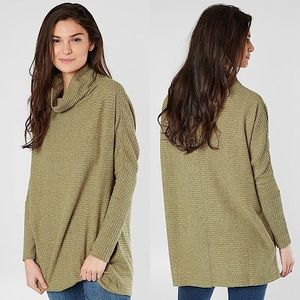 Free People Kitty Thermal Tunic Pullover